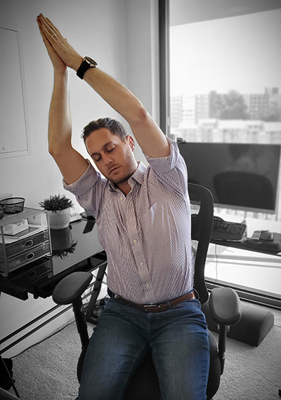 Seated-Crescent-Moon-Office-Pose